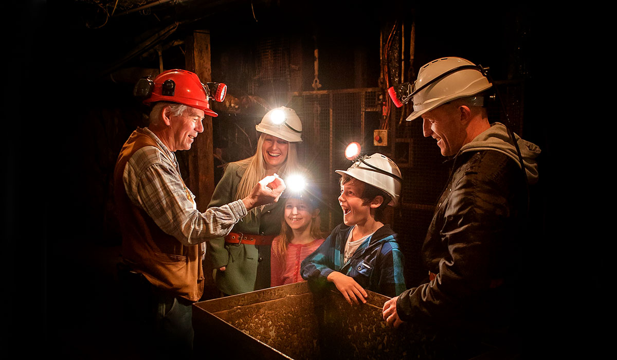 Family on a Mine Experience Tour